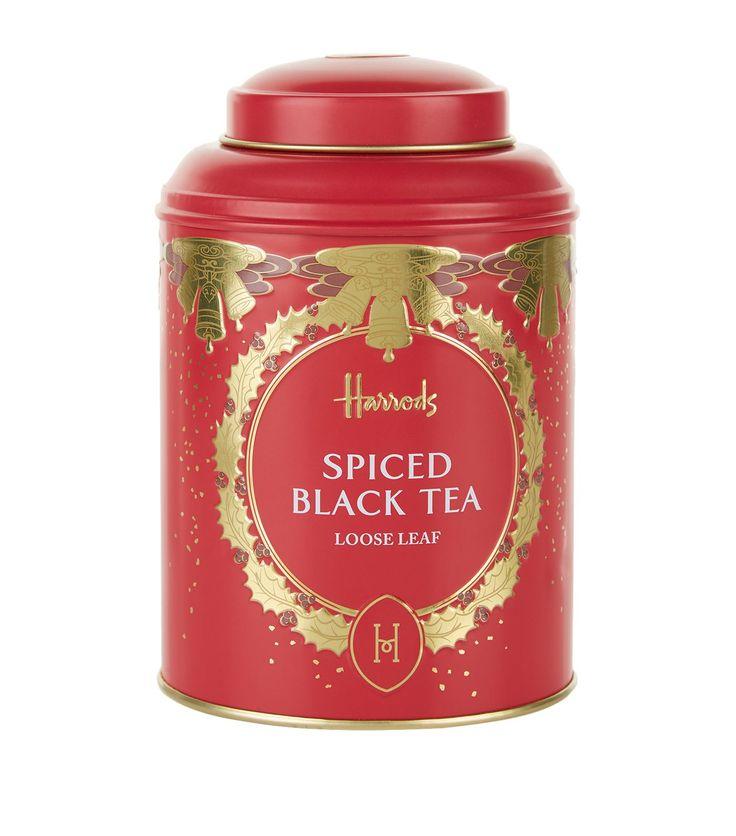 Harrods christmas spiced black tea 125g