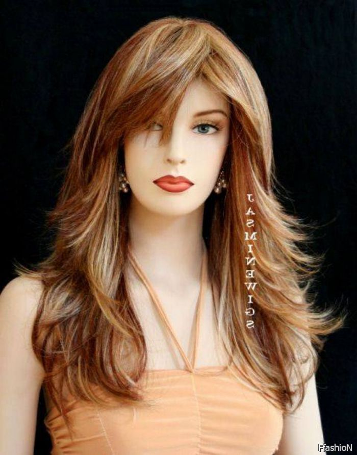 Haircuts For Long Hair With Layers And Side Bangs For Oval Face 2016-2017 – 24Fashion
