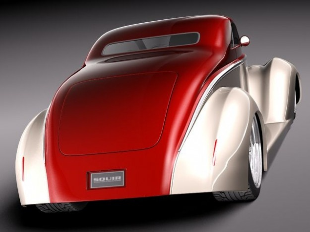 Ford 1937 5 window coup