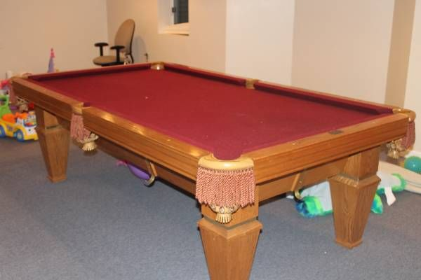 8' Brunswick Billiards Citadel Used Pool Tables for Sale