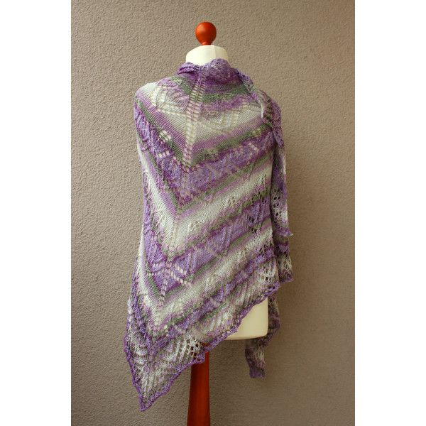 big cotton shawl white purple green wrap beach sarong spring shawl... (380 PLN) ❤ liked on Polyvore featuring accessories, scarves, green shawl, green scarves, shawl scarves, purple scarves and white cotton shawl