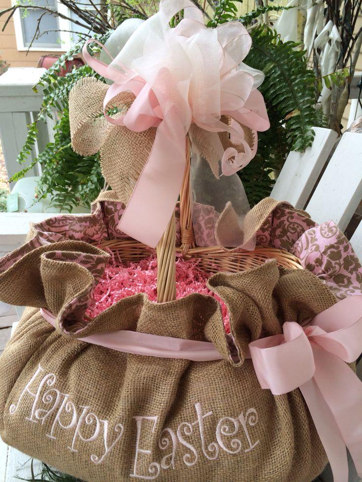 250 best custom easter baskets images on pinterest custom easter softness in burlapr easter morning cindyjaegerdesignshotmail negle Image collections