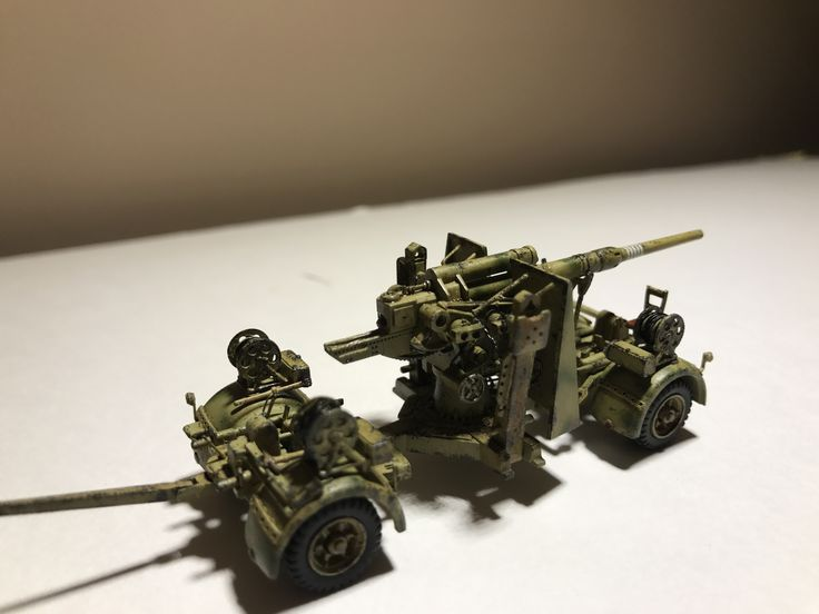 1/87 HO flak 36 by minitanks, for Kursk diorama