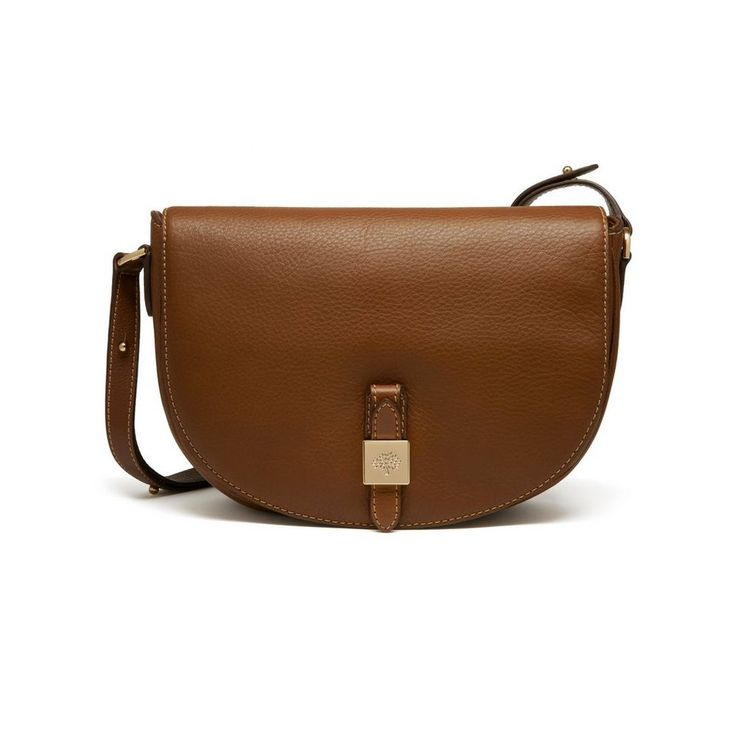 Mulberry - Tessie Satchel in Oak Soft Small Grain