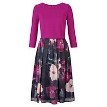 Buy Fenn Wright Manson Esmerelder Dress, Magenta/Floral Online at johnlewis.com