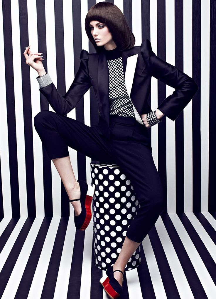 Chris Nicholls Turns Up the Contrast for Fashion Magazines May Issue