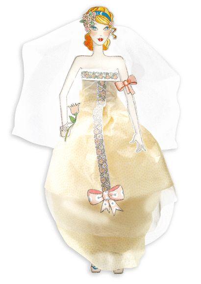 Menyasszonyi ruhák- divattervező készlet a nagy napra (Djeco) | Pandatanoda.hu Játék webáruház