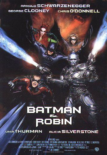 Batman & Robin......    George Clooney + Batman =  SUCKS!!!!