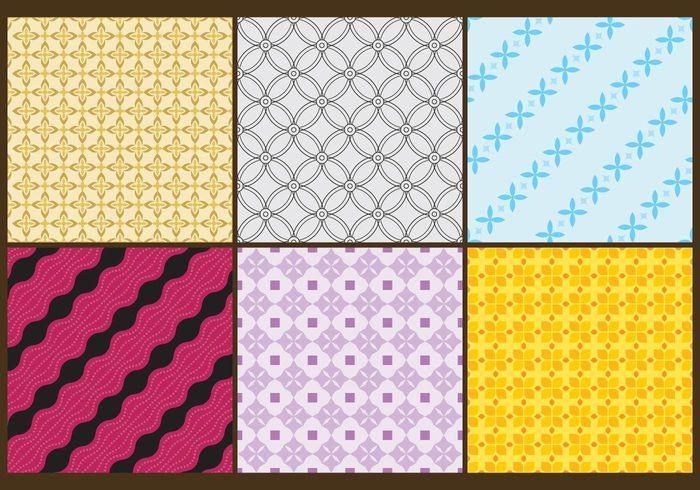 Batik Patterns Color