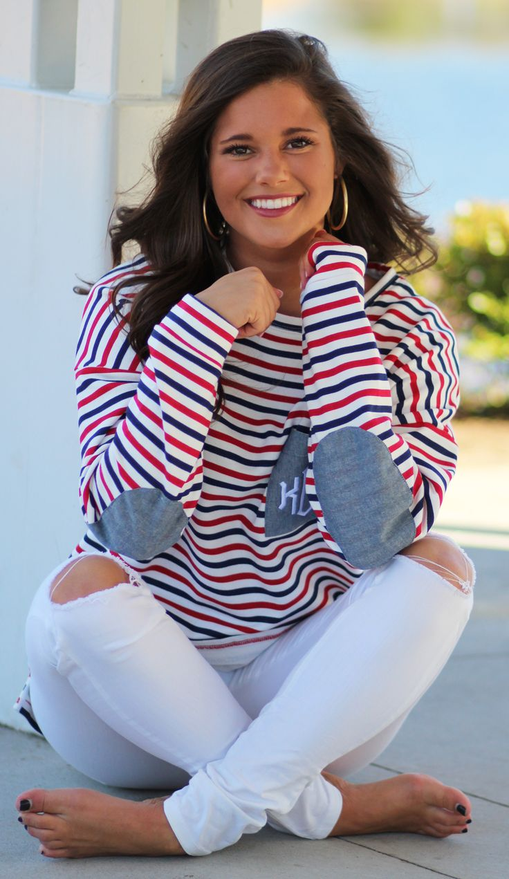 These Preppy Patch Tunics are too cute we are sooo #obsessed
