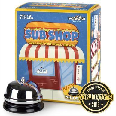 Sub Shop Board Game