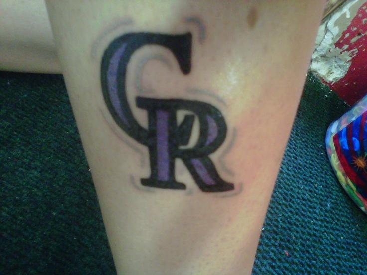 My Awesome Colorado Rockies Tattoo Tattoos Tattoos