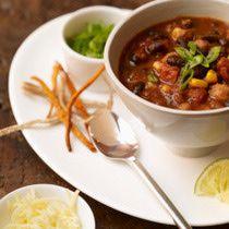 Get a Simple Vegetarian Crock-Pot Chili Going
