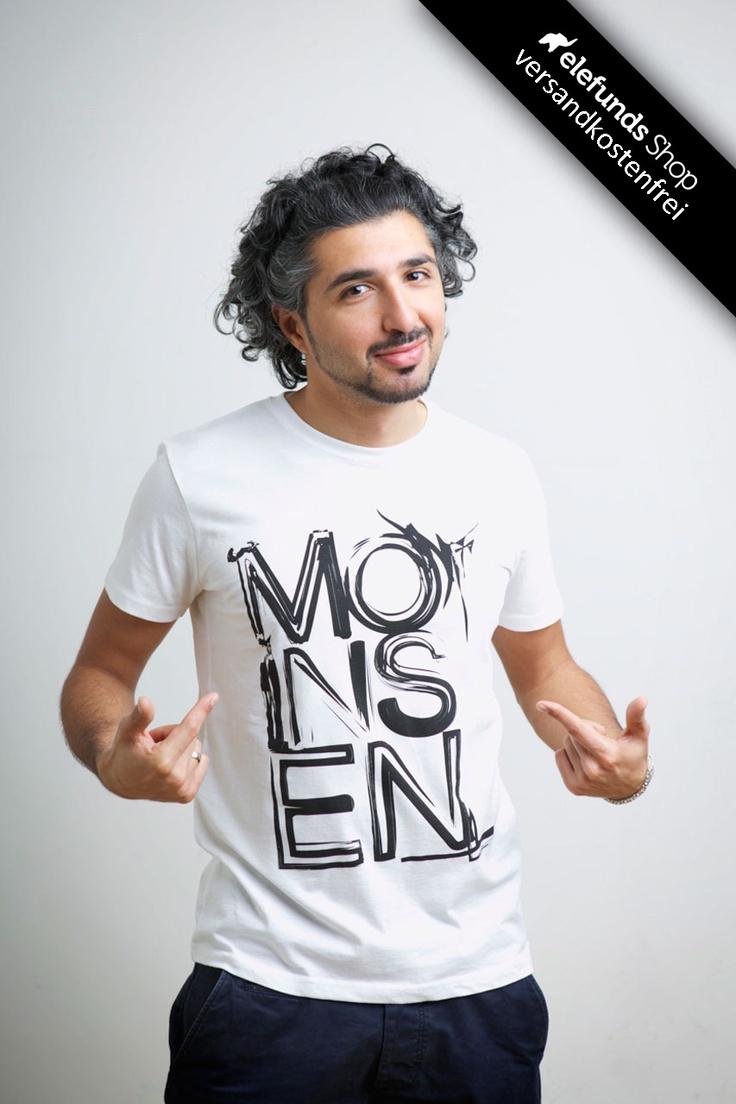 #Recolution - #Moinsen - Männer T-Shirt - weiß - 29,90€ - 100% organic cotton and fairtrade - Versand kostenlos
