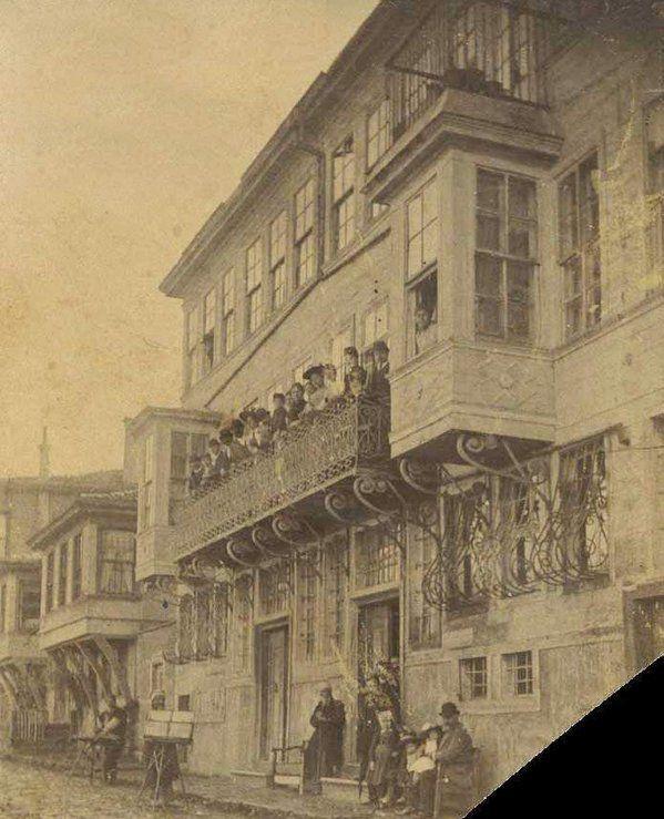 A Street Scene from Kandilli, 1900s