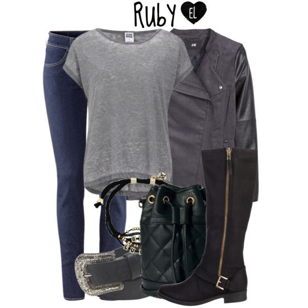 Ruby -- Supernatural by evil-laugh on Polyvore featuring polyvore, fashion, style, Vero Moda, H&M, SPURR, ASOS, BCBGeneration, Wet Seal, supernatural, ruby and spn