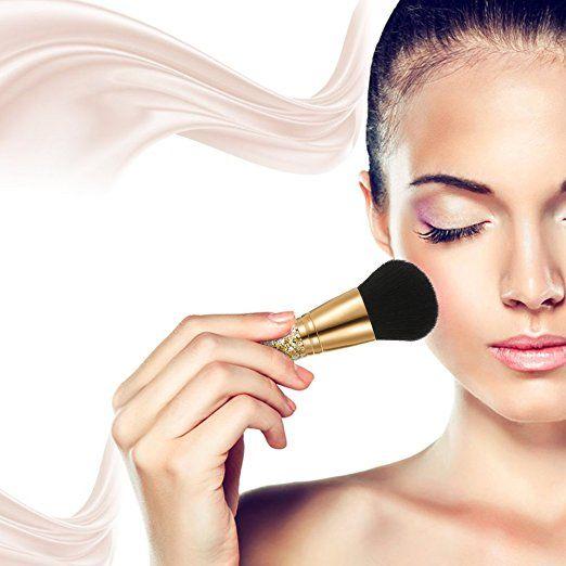 Amazon.com: Abody Golden Kabuki Brush,Powder Blush Makeup Brush Create Endless Looks: Beauty