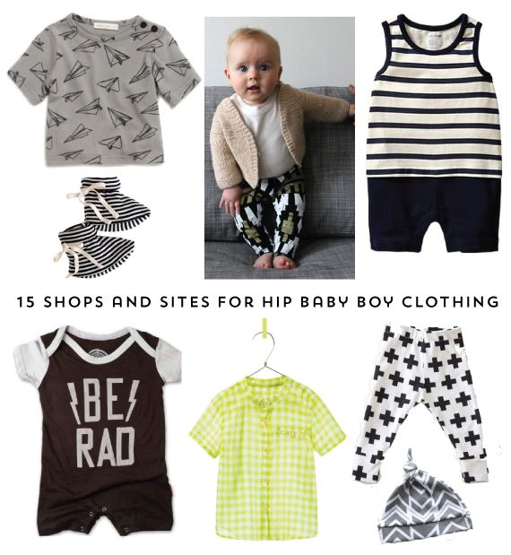 The Alison Show: 15 shops and sites for hip baby boy clothing