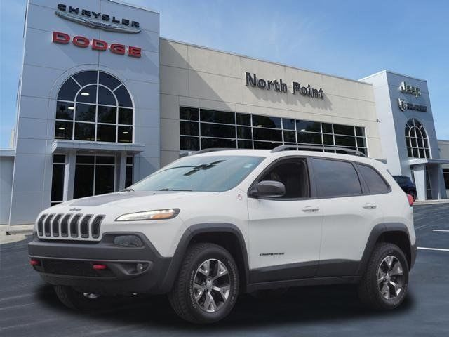 Ebay 2017 Cherokee Trailhawk 4x4 Ltd Avail Bright White