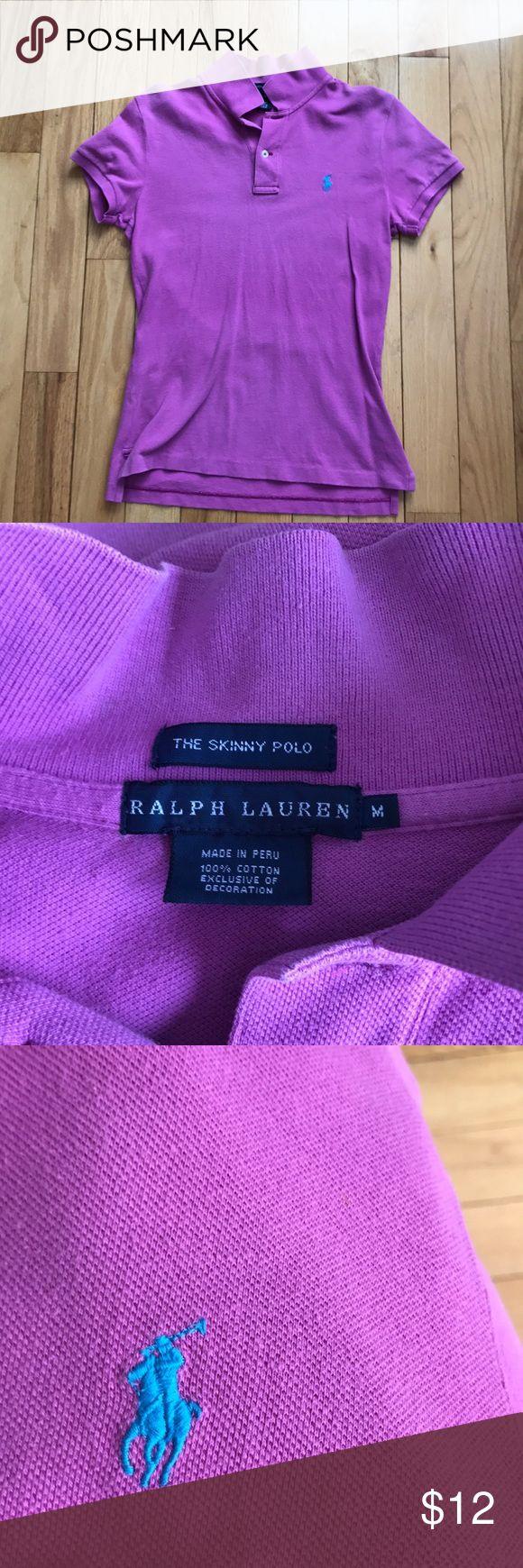 Ladies Ralph Lauren Skinny Polo Ladies Ralph Lauren Skinny Polo Ralph Lauren Tops Button Down Shirts