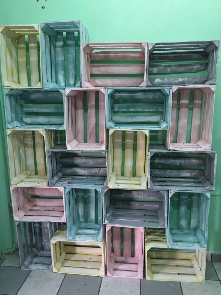 17 best ideas about huacales de madera su pinterest for Decoracion closet en madera
