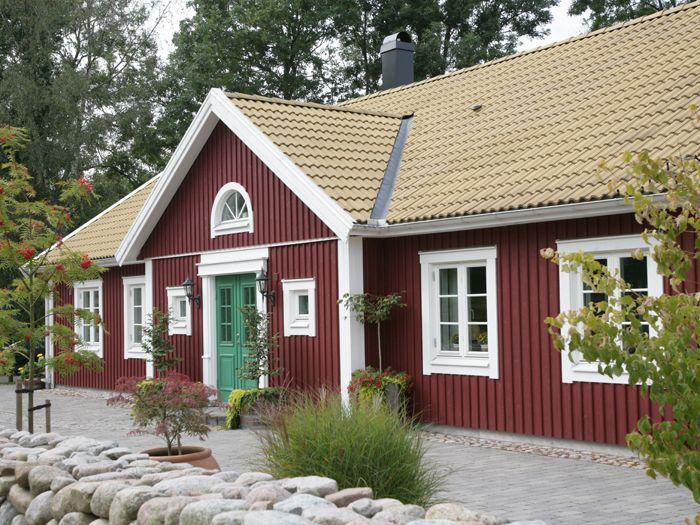 """Enplanshus, """"Herrgården""""."""