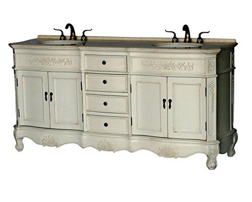 Photo Gallery Website  Inch Antique Style Double Sink Bathroom Vanity Model BE