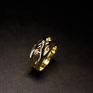Weer een lieve vrouw blijgemaakt met deze bijzondere ring! Lees hier mijn verhaal... #goudsmidmetpassie #herinneringssieraden #herdenkingssieraden reactie's onder de blog zijn heel welkom!
