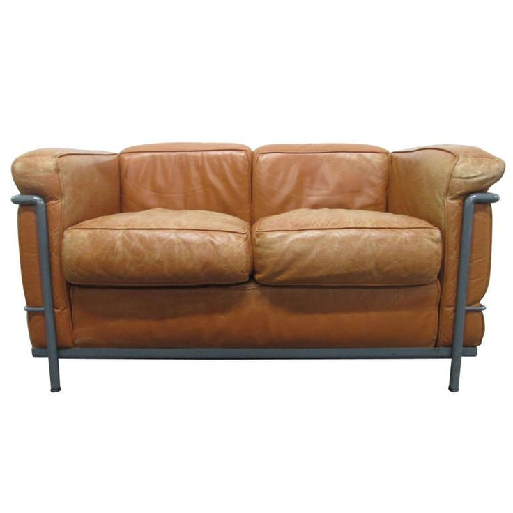LC2 Le Corbusier Sofa for Cassina From a unique