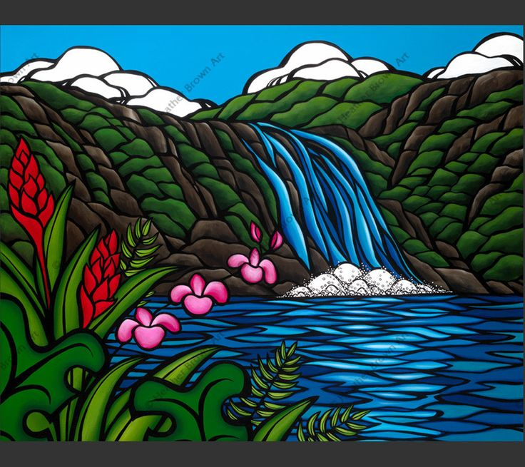 Waimea Falls by Heather Brown