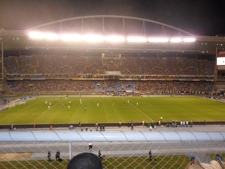 Estádio Olímpico João Havelange, famoso Engenhão.