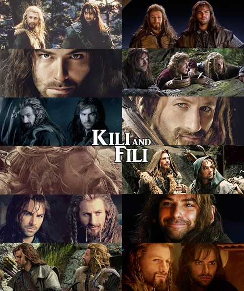 Kili and Fili - I honestly can't remember if I pinned this already. Lolz. The woes of having like 40 pins of these two. I regret nothing!!1