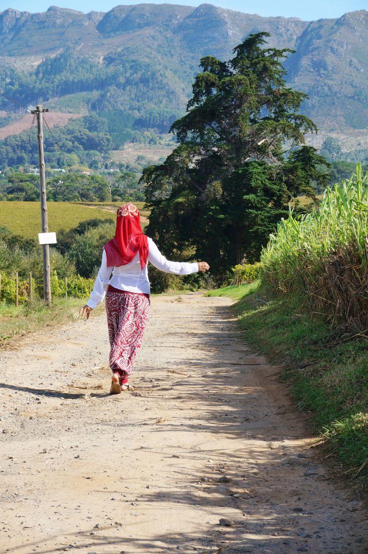 Walking away now