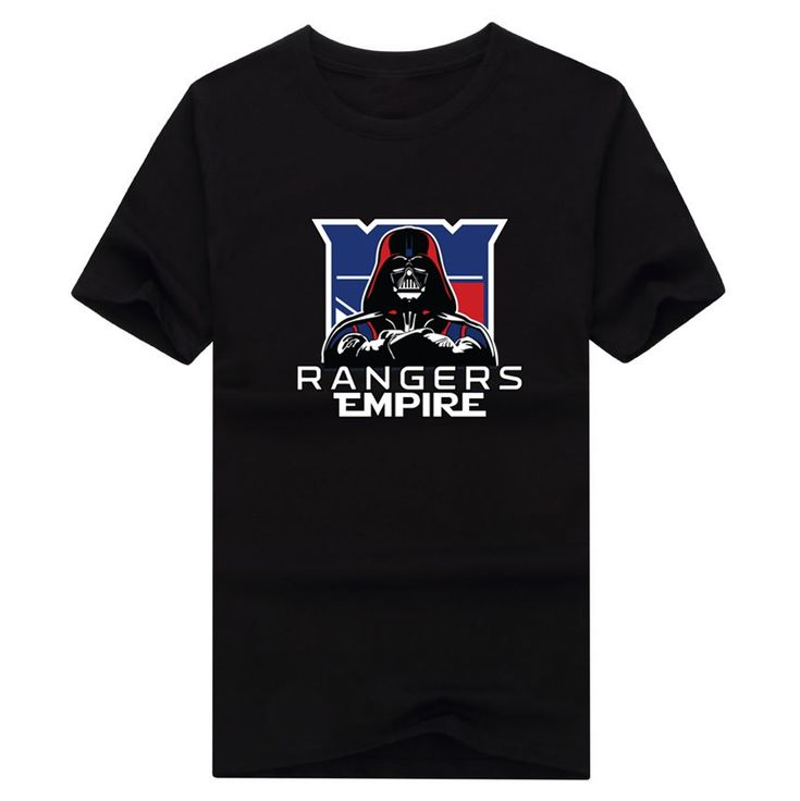 2017 New 100% Cotton Rangers Empire T-shirt Star Wars Darth Vader new york ny T Shirt 0105-15