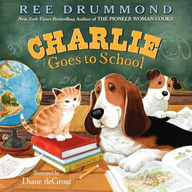 Ree Drummond, The Pioneer Woman and #1 New York Times bestselling author of Charlie the Ranch Dog , shares Charlie's newest tale: Charlie Goes to School . Charlie the Ranch Dog may be top dog, but he'