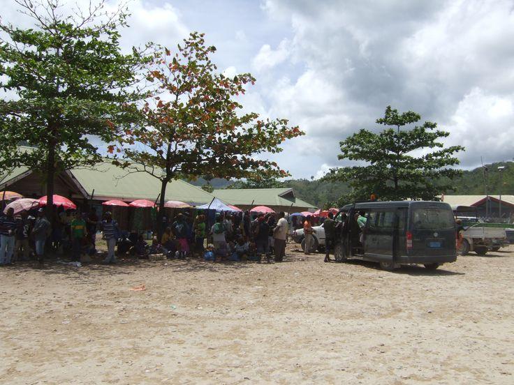 Market on Lihir Island, Papua New Guinea
