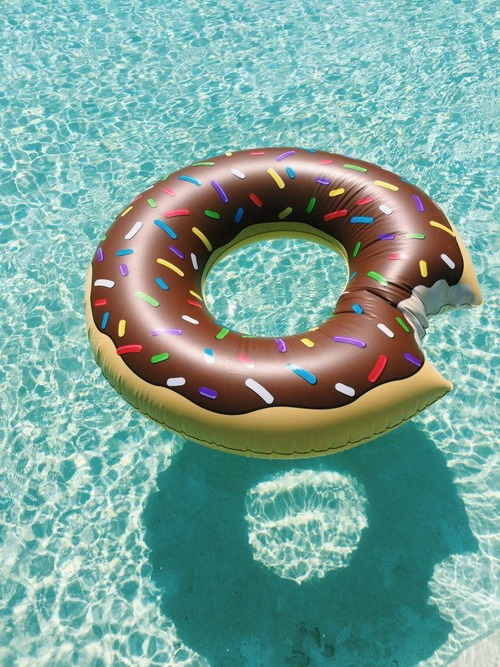 Doughnut float.