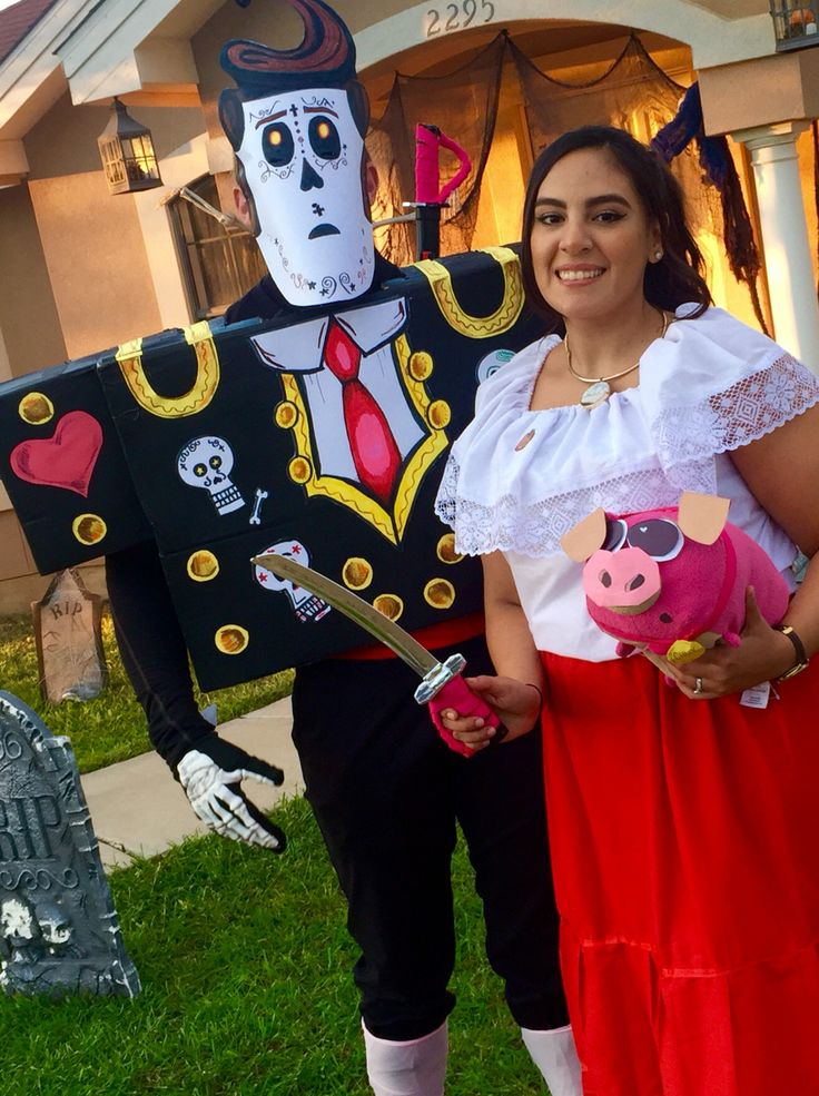 Book of Life: Manolo and Maria DIY costumes- Steve and Denise Nemeth