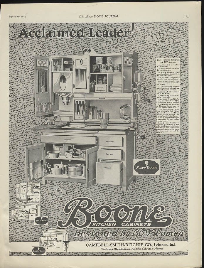14 best Boone Hoosier Cabinets images on Pinterest | Hoosier ...