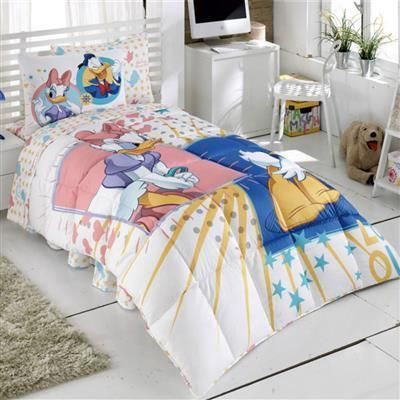 Kristal Disney Donald And Daisy Duck Tek Kişilik Lisanslı Uyku Seti   cazip geldi