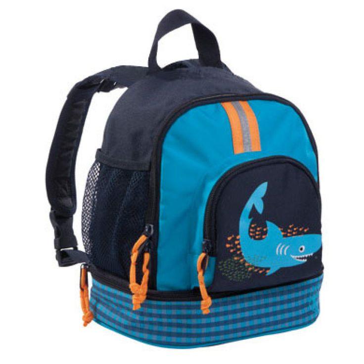 LÄSSIG Mini Rucksack Backpack Shark ocean #Lässig #Kinderrucksack #Kindergartentasche #Haie #Shark