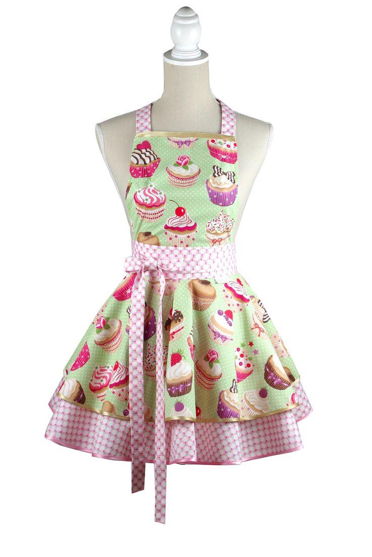 Cupcake kuchynská zástera