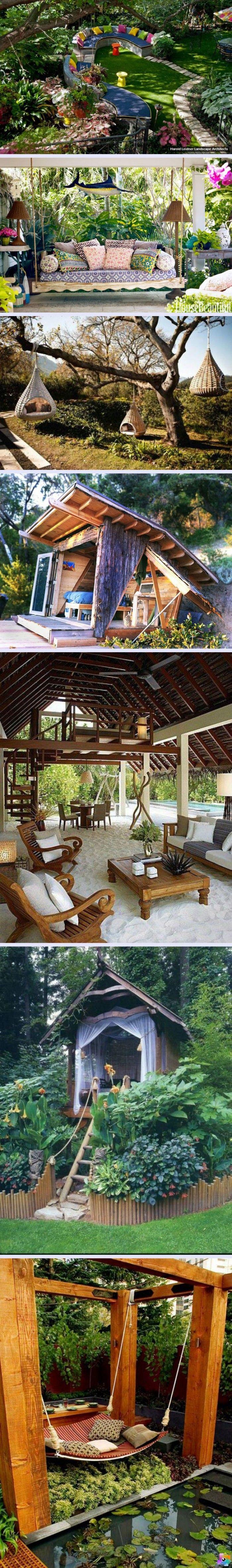 Yaratıcı Arka Bahçe Tasarımları www.4finite.com