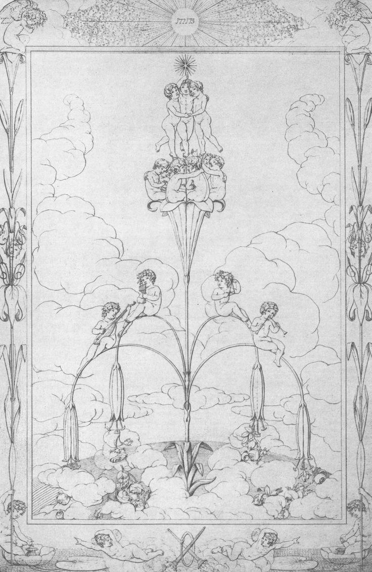 Künstler:Runge, Philipp Otto Entstehungsjahr:1803 Maße:71,3 × 48,1 cm Technik:Feder in Schwarz Aufbewahrungsort:Hamburg Sammlung:Kunsthalle Epoche:Romantik Land:Deutschland