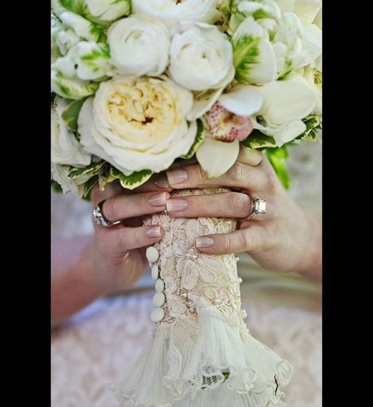 71 best bouquet wraps images on pinterest bridal bouquets bridal 100 sentimental wedding ideas youll want to steal solutioingenieria Images