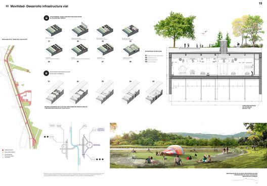 Primer Lugar Concurso Público Internacional de Anteproyectos Parque del Río en la ciudad de Medellín,Lámina 19. Image Courtesy of Equipo Primer Lugar