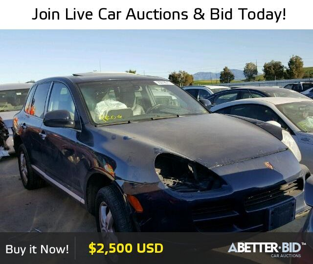 Awesome Porsche 2017: Salvage  2004 PORSCHE CAYENNE for Sale - WP1AB29P74LA60290 - abetter.bid/...... Check more at http://24cars.top/2017/porsche-2017-salvage-2004-porsche-cayenne-for-sale-wp1ab29p74la60290-abetter-bid/