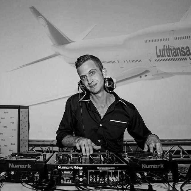 Dj JarredK at Queen of the sky's launch . #dj #djs #entertainment #mobiledj #corporatedj #urbanentertainment #Lufthansa # Queen of the sky's