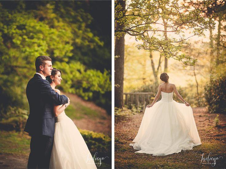 Fatma & Sean | Beautiful Woodland Wedding at High Rocks | Royal Tunbridge Wells | Bride & Groom Portraits