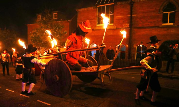 Lewes bonfire night celebrations 2017 – in pictures | UK news | The Guardian
